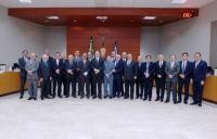 O encontro reuniu todos os dirigentes dos tribunais de Justiça do país