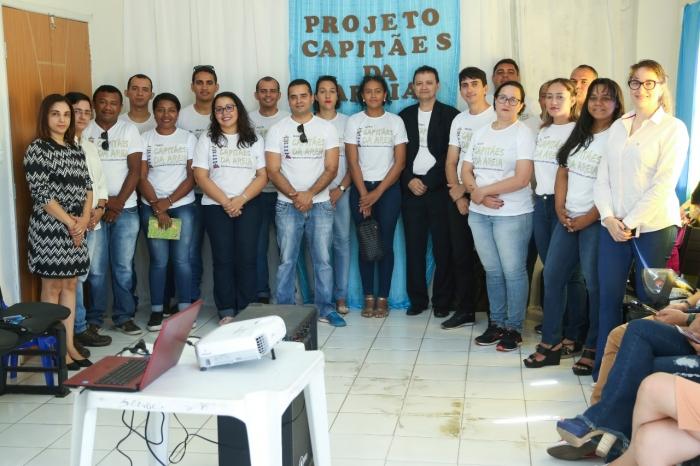 Juiz Simeão Pereira prestigiou abertura do evento.