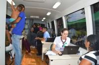 O projeto Ouvidoria Itinerante na comarca de Mirinzal (Foto: Divulgação)