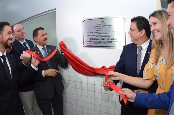 A solenidade de instalação foi prestigiada por magistrados, advogados e demais profissionais da área jurídica (Foto: Ribamar Pinheiro)