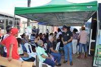 O município de Cururupu foi o terceiro a receber, nesta semana, a ação conjunta da Justiça maranhense. (FOTO: Divulgação/Ascom TJMA)