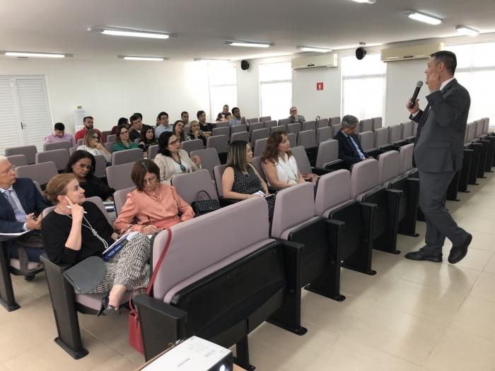 O juiz Maurício Ferreira Cunha (TJMG) participa como formador
