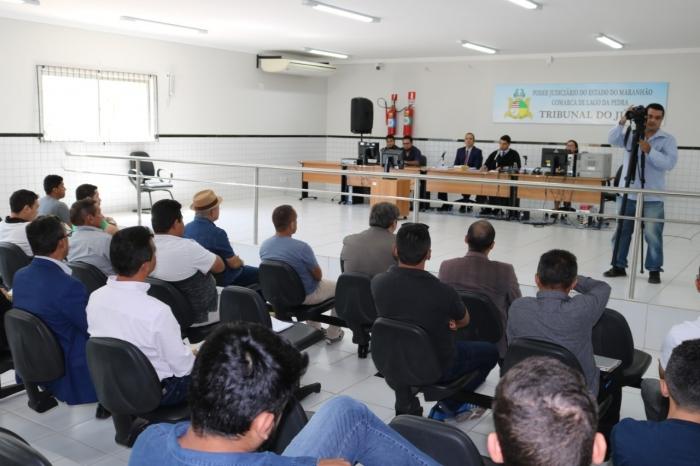 Audiências públicas aconteceram no Fórum Judicial de Lago da Pedra