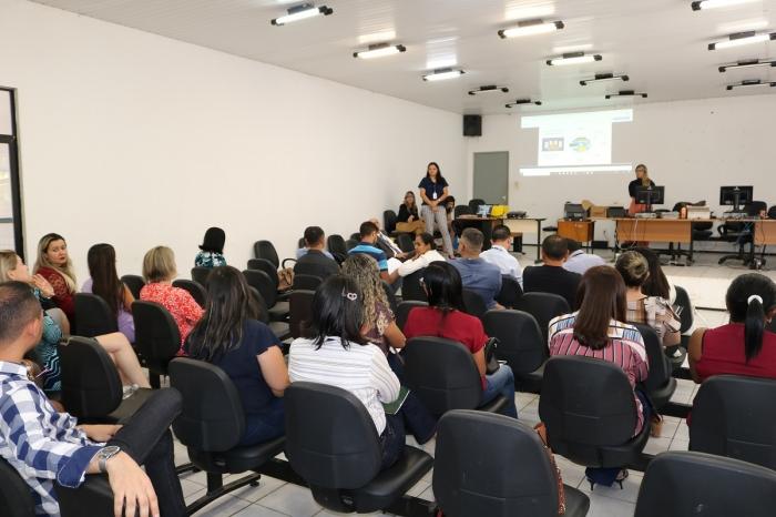 Servidores participaram de treinamento em Bacabal