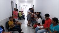 População de Carutapera aguarda atendimento no Ouvidoria Itinerante. Foto: Paulo Lafene/ Asscom TJMA