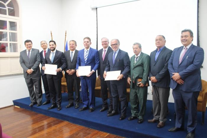 Magistrados do Maranhão prestigiaram o evento (Foto: Lago Júnior)
