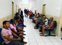 Partes processuais esperam por audiência de conciliação em Paranarama
