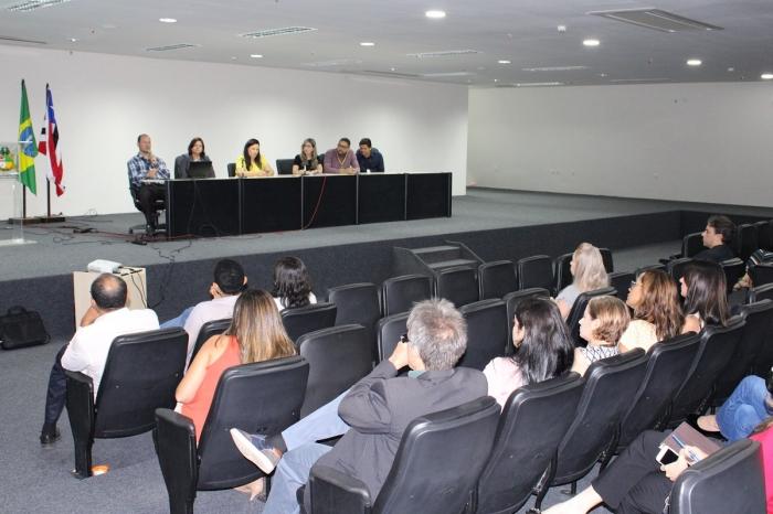 Nova etapa de treinamento aconteceu no Fórum de São Luís na última sexta-feira (8)