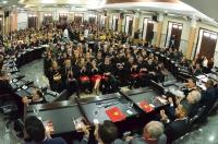 A solenidade ocorreu na Sala das Sessões Plenárias do TJMA (Foto: Ribamar Pinheiro)