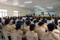 Público lotou auditório do fórum no encerramento do projeto Escola Legal