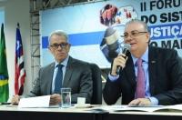 Desembargador Froz Sobrinho coordenou o evento (Fotos: Ribamar Pinheiro)