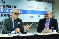 Ministro Antonio Saldanha fez a conferência de abertura (Fotos: Ribamar Pinheiro)