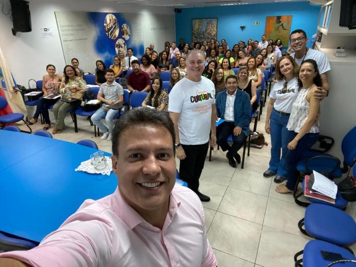 Participam da turma 69 profissionais do polo judicial de São Luís