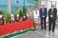 Os desembargadores Joaquim Figueiredo, José Jorge Figueiredo dos Anjos, Cleonice Freire, e o juiz José Américo participaram do evento (Foto: Ribamar Pinheiro)