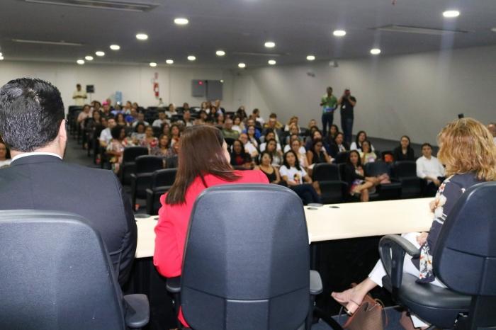 Evento promovido pela 2ª Vara de Combate à Violência Doméstica e Familiar, no Fórum de São Luís (Fotos: Josy Lord)