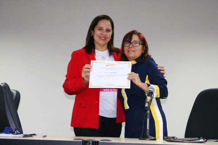 Evento promovido pela 2ª Vara de Combate à Violência Doméstica e Familiar de São Luís, no Fórum do Calhau (Fotos: Josy Lord)