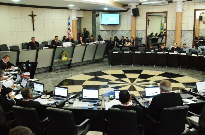 As indicações ocorreram na sessão plenária administrativa desta quarta-feira (Foto: Ribamar Pinheiro)