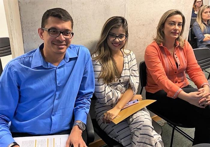 Arthur Darub, Anna Teresa Gomes e Bianca Ducanges