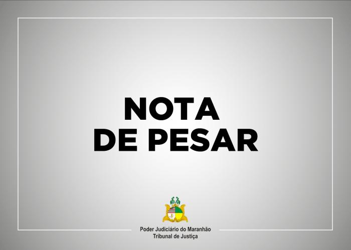 O Presidente do TJMA se solidarizou com os familiares do servidor Rubens Santos Belfor