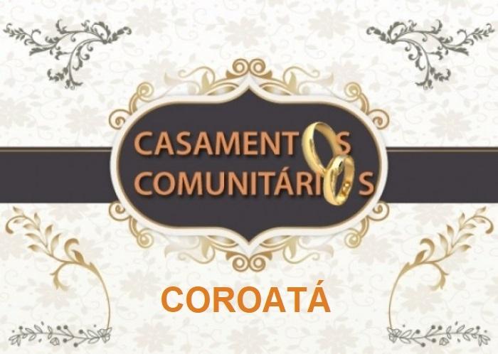 Casamento Comunitário em Coroatá é remarcado para dia 24 de junho
