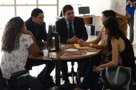 As audiências de Conciliação acontecem em todo o Estado. (Foto: Ribamar Pinheiro).