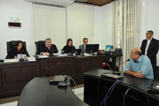 Desembargador Froz Sobrinho decreta prisão preventiva na primeira audiência de custódia do 2º Grau