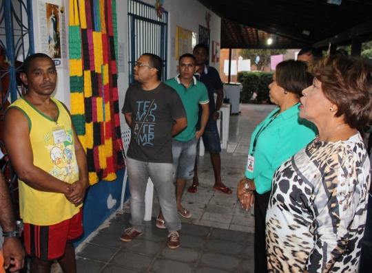 CORREGEDORA OBSERVA REDES FABRICADAS POR INTERNO DA APAC